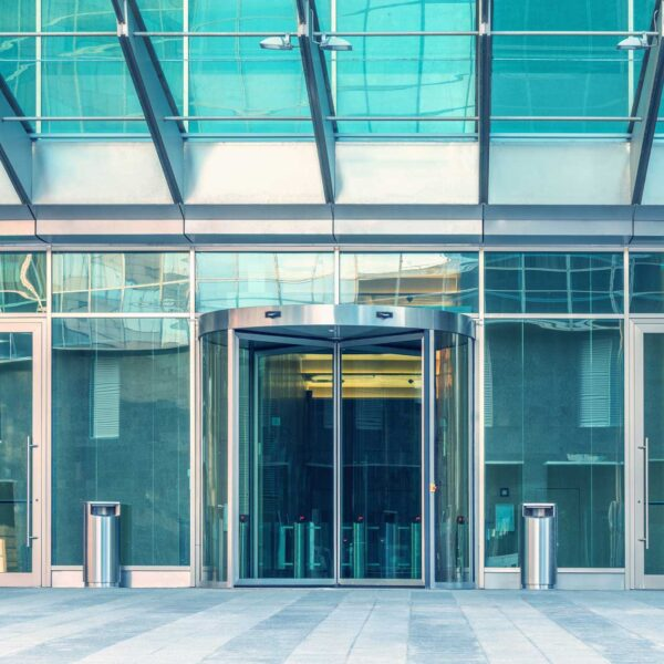Automatic Security Doors